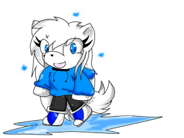 chibi+ice by AshleyShiotome
