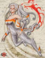 Amaterasu - coloured version by Rei-tanna