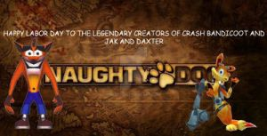 Labor Day of Crash and Daxter by dudiho