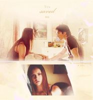 Delena.Collage.03 by favouritevampire