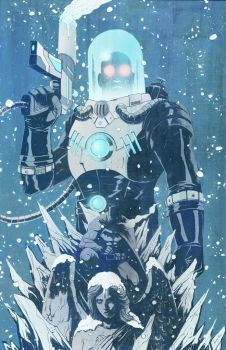 Mr. Freeze by TylerChampion
