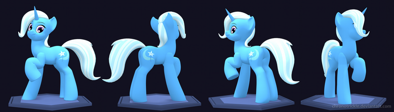3D Trixie Renders [V.0.6] by ChronoTrickle