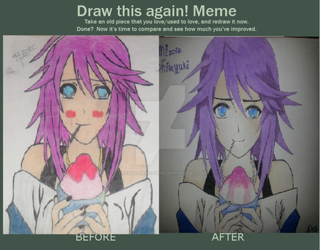 Before and After 2012 vs 2017 by Hexgirl-Heirofhope