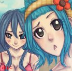 Juvia and Levy by LyritEmbrium