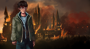 Harry Potter and  the Deathly Hallows by Gotetho