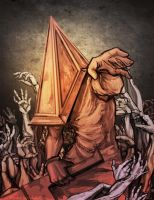 Pyramid head by Zoroko