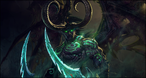Illidan Stormrage by Sn4yke