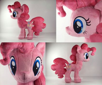 Pinkie Pie Loves to Party...and Snuggle. by eebharas