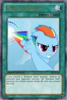 Sonic Rainboom (MLP): Yu-Gi-Oh! Card by PopPixieRex