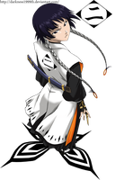 2nd Division Captain Soi-fon by Darkness1999th