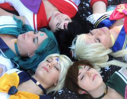 Dreaming Senshi by Nostalchicks Group Cosplay by NostalchicksCosplay