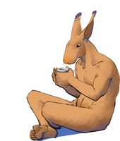 Tea bunny by Sayhono