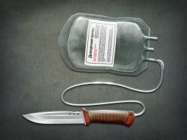 The knife for humane murder by Borodox