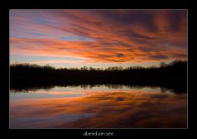 Abend am See - 04 by AndreasResch