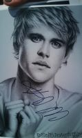 Chord Overstreet -AUTOGRAPHED- by robdolbs
