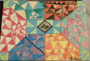 Triangles by Blossay