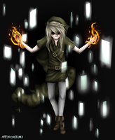Ben Drowned What are you doing there ? by NekoXemi