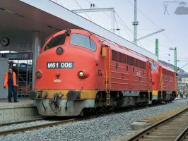 M61 006 and 019 in Budapest by morpheus880223