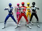 Mighty Morphin Power Rangers Power Blaster by Infinitevirtue