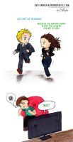 Run, run, run! -TM 5x12 episode tag by Chizuru-chibi