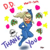 O-Ne: Samus Aran III, THANK YOU ALL by Ayatonas