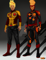Arrow/Flash Concept: Firestorm by IronAvenger1234