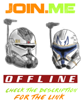 Watch me draw! Join.me OFFLINE by SpaceSharkz