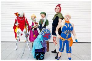 Skyward Sword Group by plastic-anime