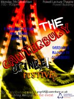 The Canterbury Cringe Festival by RicGrayDesign