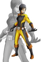 SWTOR Star Wars Satele Shan undercover by Aliens-of-Star-Wars