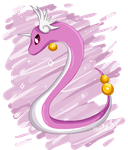 Draco/Dragonair shiny by Manakyr