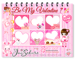 Icon Textures Set 1 - Valentine by Cute-InuMiku