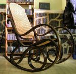 rocking chair by skulkey