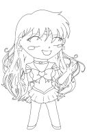 Chibi Sailor Mars by TaryneRhedey