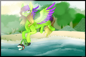 {Art Trade} Adventures Lay Behind and In Front by MayaArts