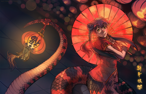Year of the Snake! by Shattered-Earth