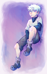 Killua by waveoftheocean