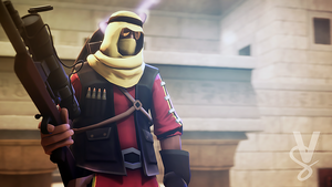 Team Fortress 2 (TF2) - Sniper by ViewSEPS