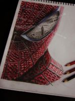 The Amazing  Spider-Man on.paper by A-D-I--N-U-G-R-O-H-O