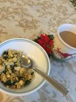 Tofu Scramble with Spinach by swankie