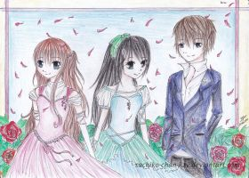 Within the roses by Sachiko-chan-KZY