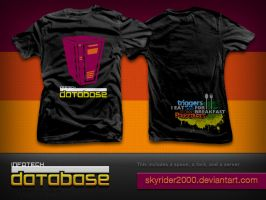 InfoTech Database T-shirt by skyrider2000