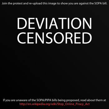 Stop SOPA ! by Ai-Lilith