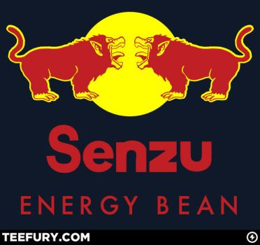 Senzu: Energy Bean by SirRobot