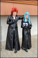 Axel and Saix by secondaccident