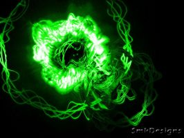 Green Abstract by smkdesigns