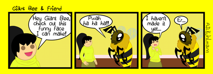 Giant Bee And Friend 10 by Skiskir