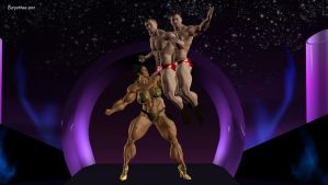 Phenomenal muscled woman's show 43 by eurysthee