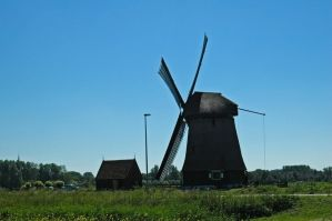 Windmills near Alkmaar_008 by BlokkStox
