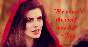 free once upon a time wallpaper~ red riding hood~ by xXRedRidingHoodXx